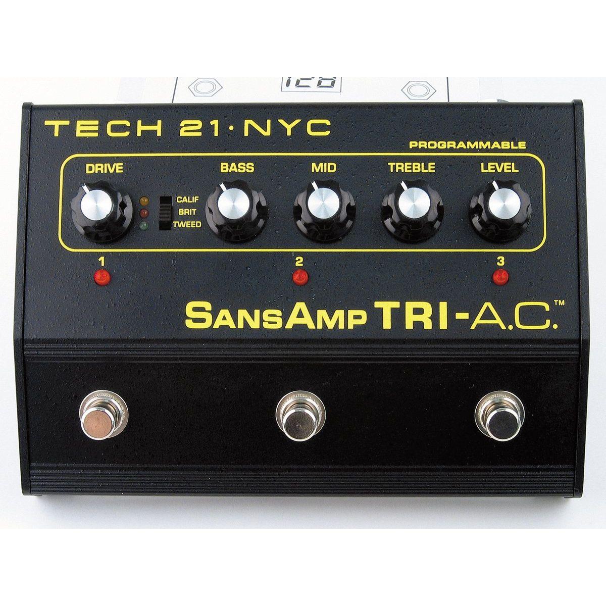 Sobre os diversos modelos de Sansamp Bass Driver DI Tech-21-Pedal-Guitarra-Sansamp-Tri-Ac